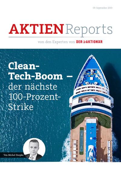 Clean-Tech-Boom – der nächste 100-Prozent-Strike