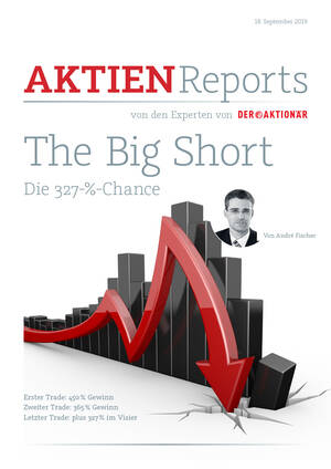 Aktien-Reports - The Big Short: Die 327-%-Chance