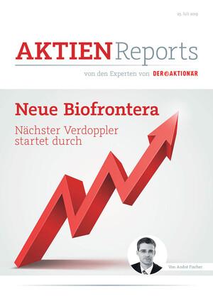 Aktien-Reports - Nächster Verdoppler startet durch: Die neue Biofrontera