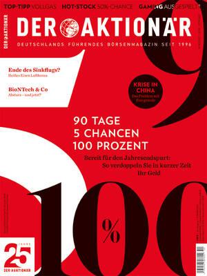 DER AKTIONÄR - Ausgabe 40/21