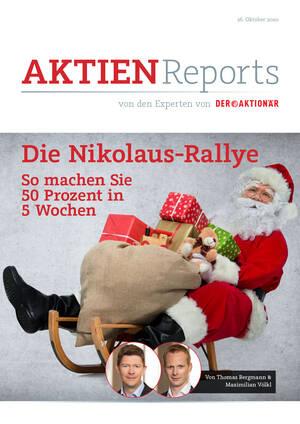 Aktien-Reports - Die Nikolaus-Rallye – so machen Sie 50 Prozent in 5 Wochen